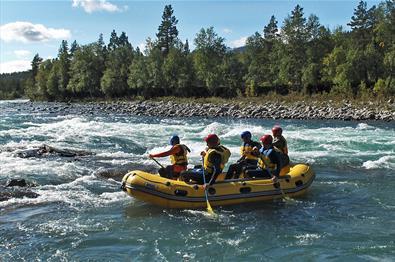 Rafting in der Sjoa