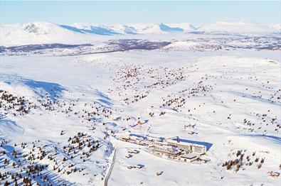 Storefjell Resort vinter