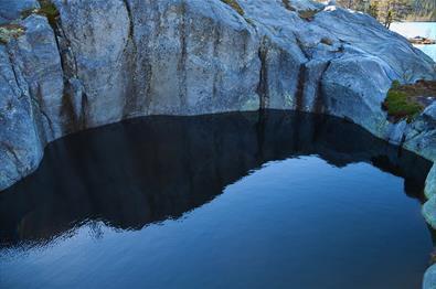 Gletschermühlen Gjøgerlaugitn