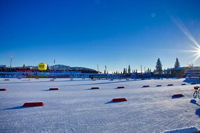 Beitostølen Skistadion und Flutlichtloipe
