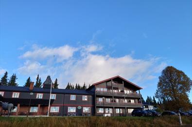 Valdres Tisleia Hotel fra utsiden.