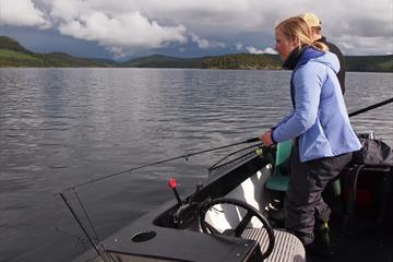 Fishing - Lake Øyangen
