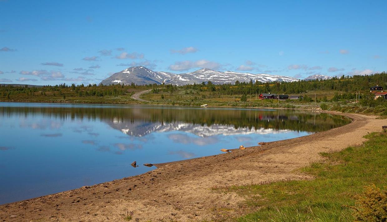 Lake Rensenn in Vestre Slidre municipality.