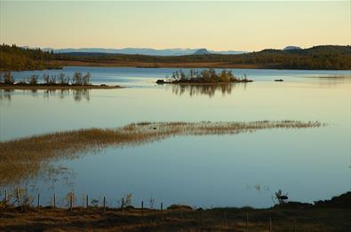 Angeln im Sebu-Røssjøen