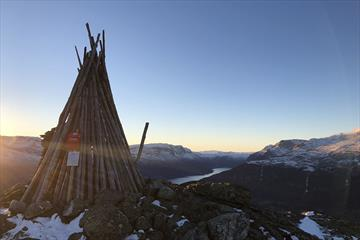 Hugakollen 1131 m