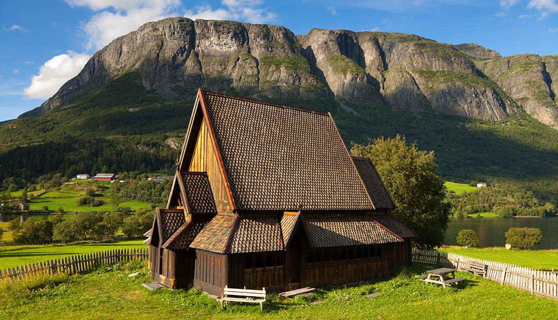 Die Stabkirche von Øye