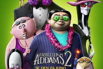 Fagernes Kino: Familien Addams 2