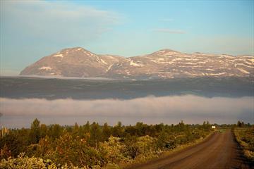 Along the Panoramavegen towards Skogshorn.