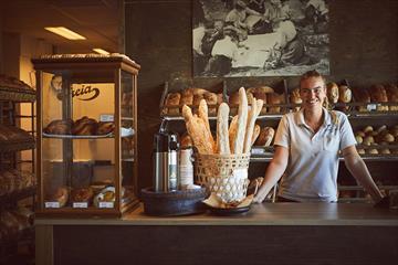 Die Bäckerei in Bagn