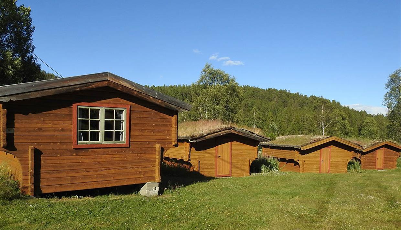 Hytter på Rogn Camping