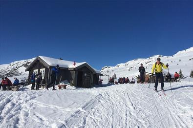 Olebu Varmestue ligger flott til på fjellet
