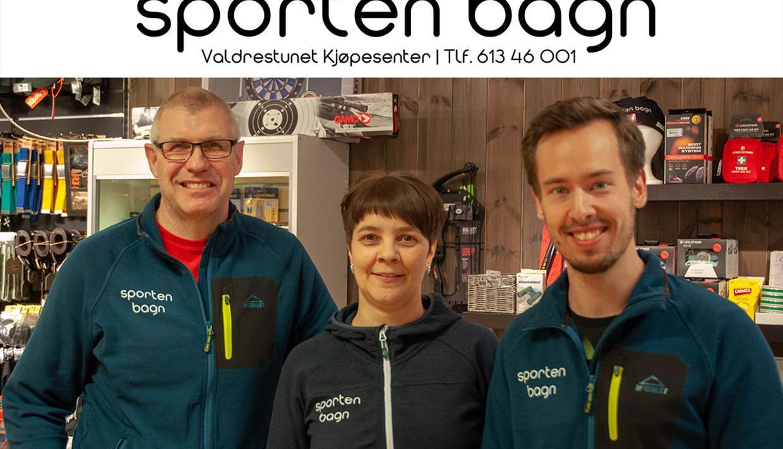 Bilde av personalet på Sporten Bagn