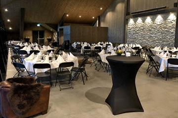 """Salen"" - a venue at Myhre Gård"