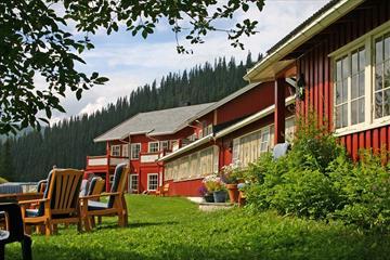 Grønolen Fjellgard, rom og leiligheter på Beitostølen