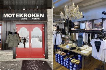 Motekroken er en hyggelig klesbutikk i Beitostølen sentrum.