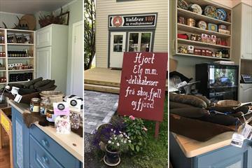 Gårdsbutikken hos Valdres Vilt og Tradisjonsmat