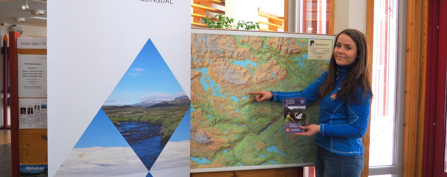 Information at Ål tourist information centre