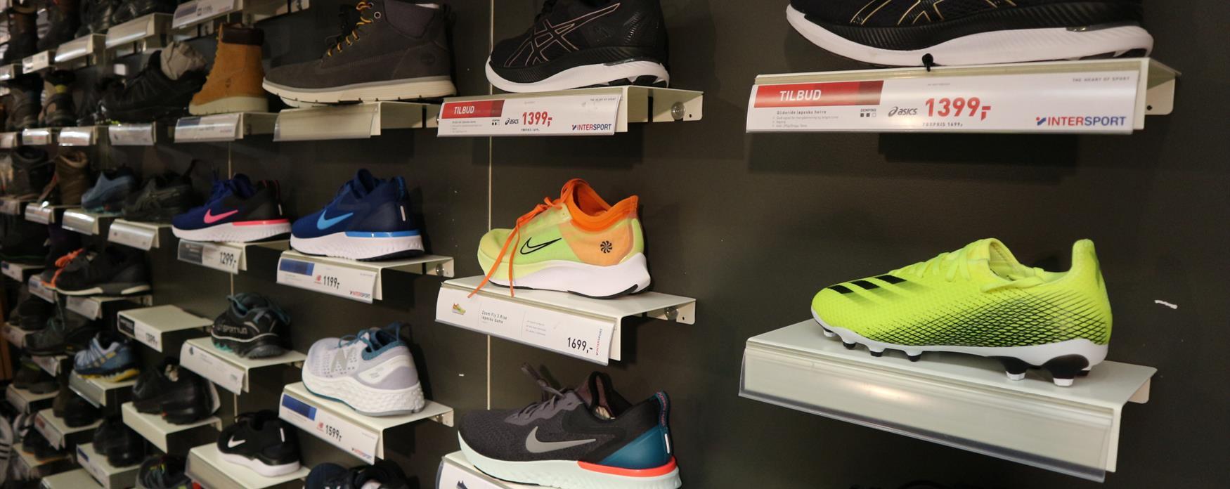Sko i butikk
