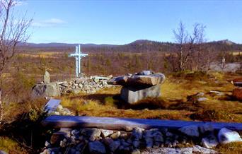 Sangefjell Naturkatedral, friluftkirke på fjellet.