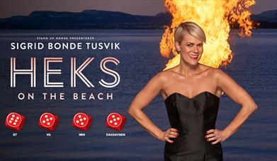 Sigrid Bonde Tusvik: Heks on the beach