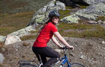 På sykkeltur i Ål