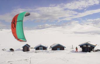 Kiting og skiseiling