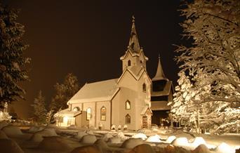 Torpo kyrkje og Torpo stavkyrkje