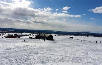 Flotte skiløyper forbi Gaurhovd