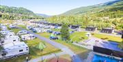 Store plasser for campingvogner og bobiler
