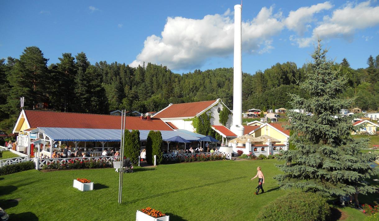 Restaurant Svilla på Norsjø Ferieland
