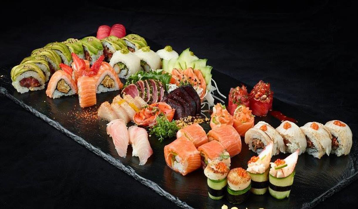 Sushi fra Baba Sushi. Foto