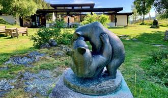 Grimdalstunet, Skafså i Tokke, Vest-Telemark museum, Anne Grimdalen.
