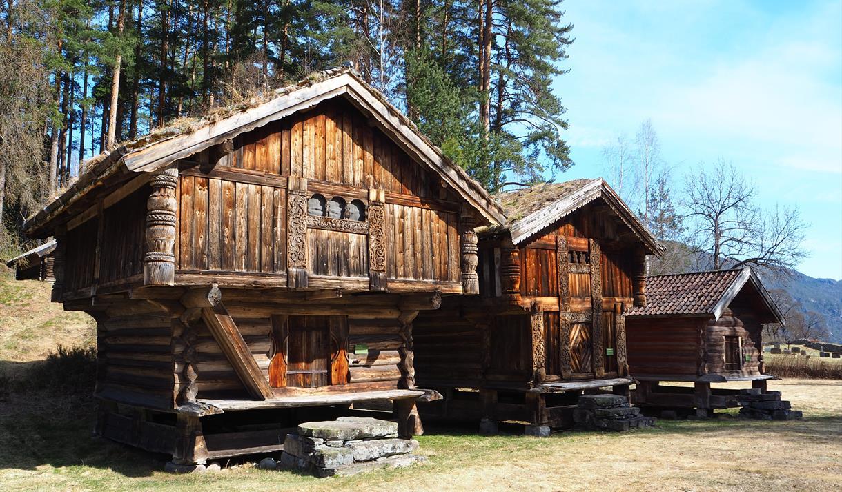 Kviteseid bygdetun, Vest-Telemark museum.