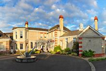 The Leverhulme Hotel in Port Sunlight.