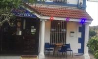 Front entrance of Yiamas Greek Taverna