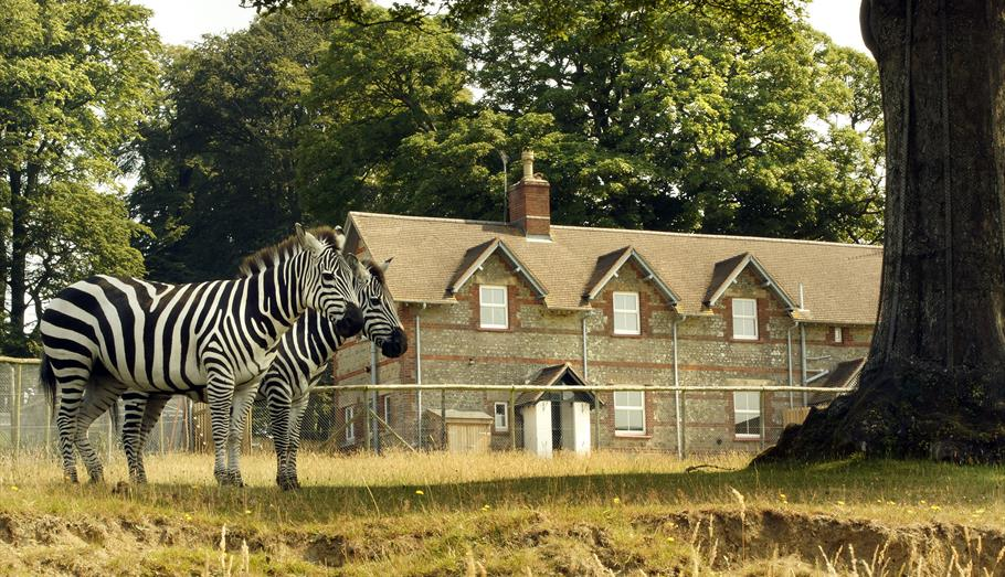 The Keepers House self catering accommodation at Longleat from outside
