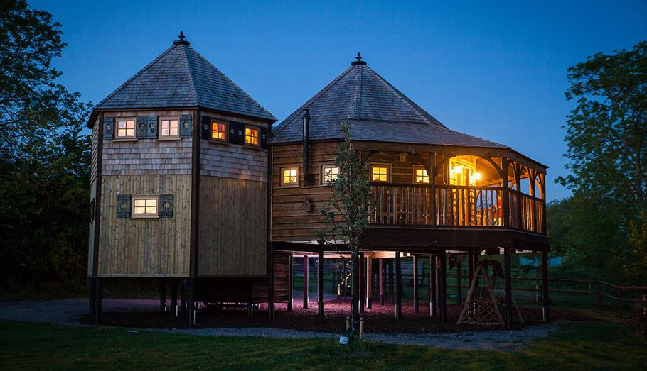 Mill Farm Glamping Tree House