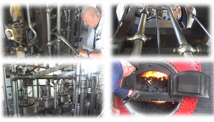 Crofton Beam Engines in Steam