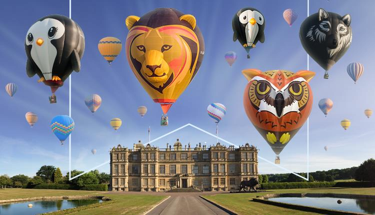 Sky Safari Hot Air Balloon Festival at Longleat