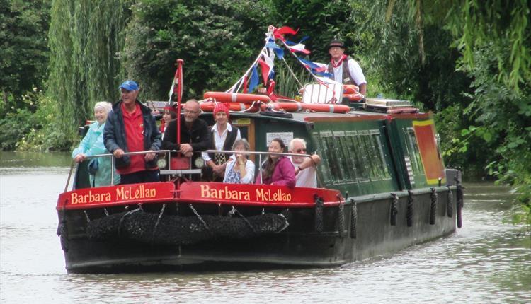 Pirates Ahoy! Canal Trip
