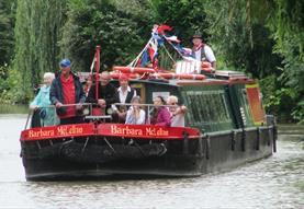 Widbrook Short Canal Trip