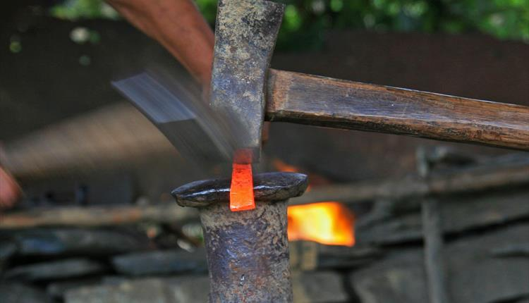 Blacksmith's Forge-In, 'have a go' & Market Stand
