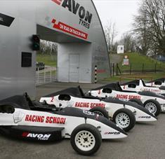 Castle Combe Circuit Racing School Race Cars