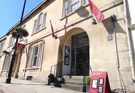 Entrance to Chippenham Museum