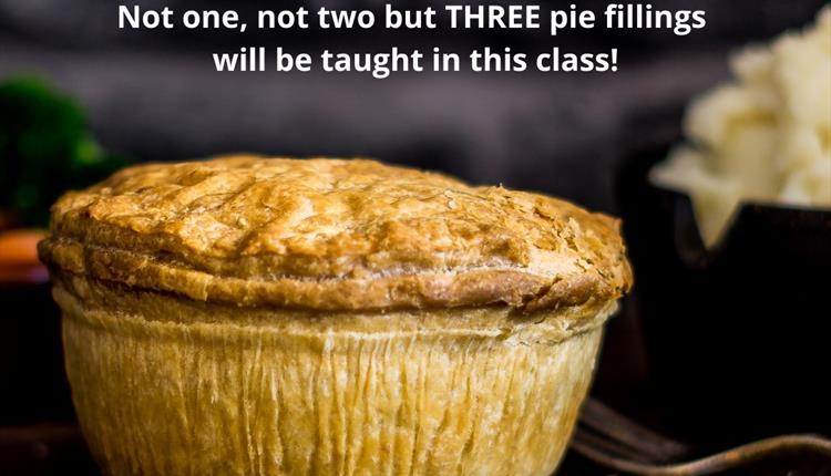 Online Cook Along - Pie & Mash