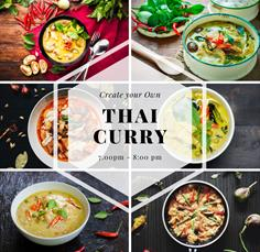 Online - Create your own Thai Curry
