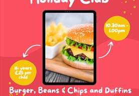 Holiday Cookery Club 11+ yrs