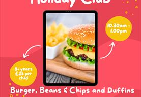 Holiday Cookery Club 8+ yrs