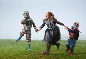The Wizards of Once Halloween Quest at Old Sarum