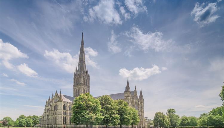 Salisbury Cathedral in Wiltshire (c) Ash Mills